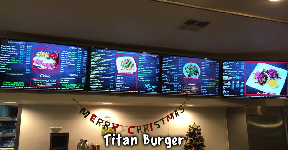 HD Sign Design Digital Menu Animation