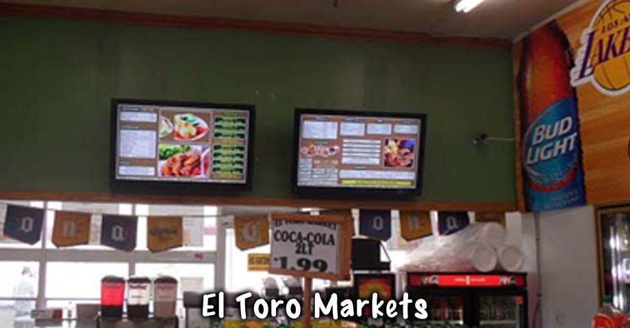 HD Sign Design Digital Menu at Restaurants