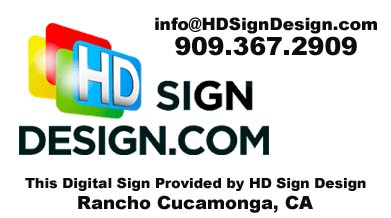 HD Sign Design, Digital Restaurant Menu System, Denver, Colorado